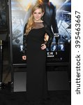"Small photo of LOS ANGELES, CA - OCTOBER 28, 2013: Abigail Breslin at the Los Angeles premiere of her movie ""Ender's Game"" at the TCL Chinese Theatre."