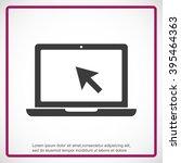laptop vector icon | Shutterstock .eps vector #395464363
