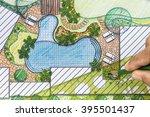 landscape architect design... | Shutterstock . vector #395501437