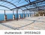 metal construction of the... | Shutterstock . vector #395534623