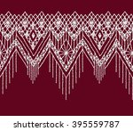 floral seamless pattern with a... | Shutterstock .eps vector #395559787