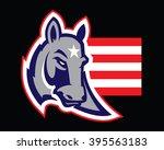 donkey mascot | Shutterstock .eps vector #395563183