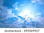 sunny day   Shutterstock . vector #395569927