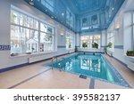 home pool  | Shutterstock . vector #395582137