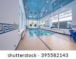home pool  | Shutterstock . vector #395582143