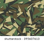 abstract vector military... | Shutterstock .eps vector #395607613