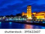 rhodes  greece | Shutterstock . vector #395622607