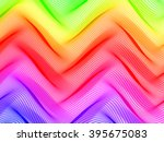 abstract striped background.... | Shutterstock .eps vector #395675083