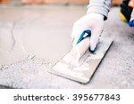industrial worker on... | Shutterstock . vector #395677843