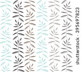 vector floral pattern. graphic... | Shutterstock .eps vector #395697823