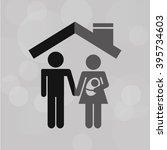 insurance concept design  | Shutterstock .eps vector #395734603