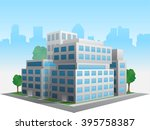 vector stylized altered generic ... | Shutterstock .eps vector #395758387