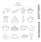 professional collection of... | Shutterstock . vector #395773597