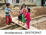 hagiang northern part ofvietnam ...   Shutterstock . vector #395792947