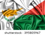 waving flag of madagascar and... | Shutterstock . vector #395805967