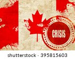 crisis stamp background with... | Shutterstock . vector #395815603