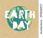 Earth Day Illustration. Earth...