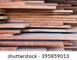 Stack Of Wood Planks Backgroun...