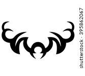 tattoos. stencil. patterns....   Shutterstock .eps vector #395862067