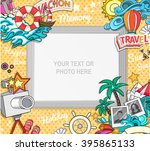 vector template photo frame or...