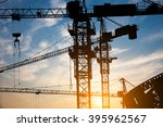 abstract industrial background... | Shutterstock . vector #395962567