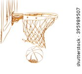 scoring the winning points at a ... | Shutterstock . vector #395989507