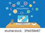 web development infographic | Shutterstock .eps vector #396058687
