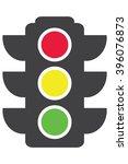 traffic light icon | Shutterstock .eps vector #396076873