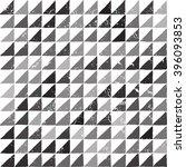 vector triangle seamless... | Shutterstock .eps vector #396093853