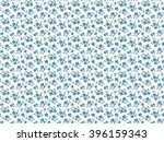cute pattern in small flower.... | Shutterstock .eps vector #396159343