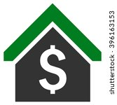 loan mortgage vector icon.... | Shutterstock .eps vector #396163153