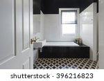designer bathroom renovation... | Shutterstock . vector #396216823