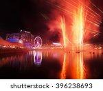 vivid sydney   darling harbor | Shutterstock . vector #396238693