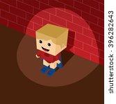 superhero   isometric cartoon | Shutterstock .eps vector #396282643