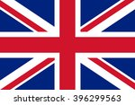 flag of united kingdom | Shutterstock .eps vector #396299563