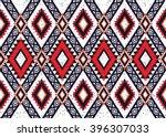 geometric ethnic oriental... | Shutterstock .eps vector #396307033