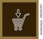 shopping cart  basket  line icon | Shutterstock .eps vector #396331957