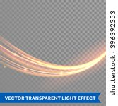 vector magic glowing spark... | Shutterstock .eps vector #396392353