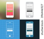 mobile wireframe ui kit. login...