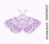 hand drawn zentangle sketch of...   Shutterstock .eps vector #396458527