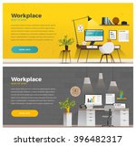 two banner for web design.... | Shutterstock .eps vector #396482317