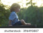 boy thinking | Shutterstock . vector #396493807