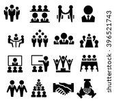 business team icon | Shutterstock .eps vector #396521743