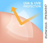 Uv Protection For Skin   Vecto...