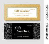 gift premium voucher  coupon... | Shutterstock .eps vector #396587653
