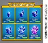 shop of crystals panel  game...