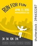 running marathon  people run ... | Shutterstock .eps vector #396632287