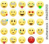 emoticons biggest set....   Shutterstock .eps vector #396635053