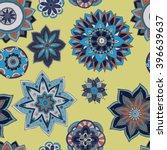 seamless pattern texture.... | Shutterstock .eps vector #396639637