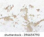 Closeup Of Peeling Painted Wall